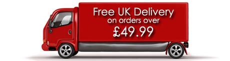 Free UK delivery on orders over £49.99