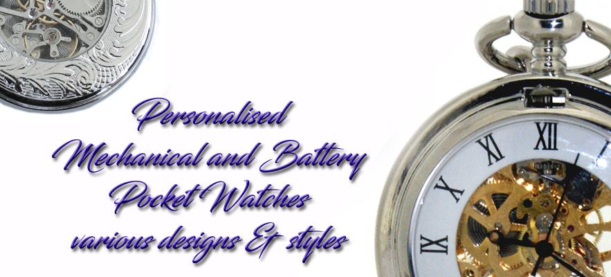 Personalised Pocket Watches for Weddings